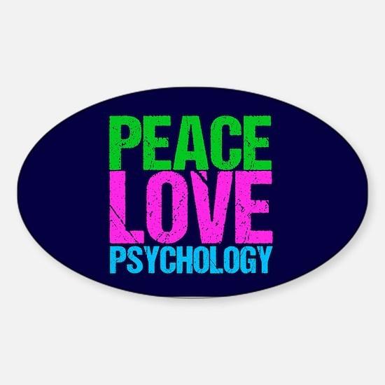 Cool Psychology Sticker (Oval)