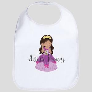 Autistic Princess Ethnic Bib