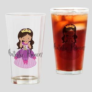 Autistic Princess Ethnic Drinking Glass