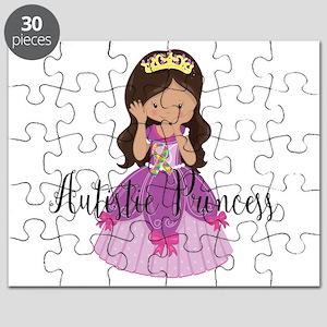 Autistic Princess Ethnic Puzzle