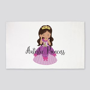 Autistic Princess Ethnic Area Rug