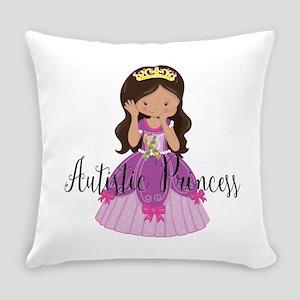 Autistic Princess Ethnic Everyday Pillow