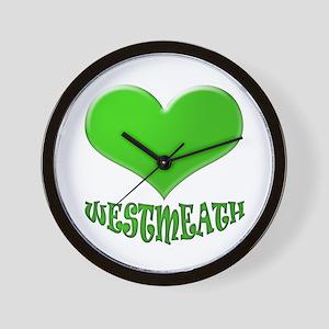 LOVE WESTMEATH Wall Clock