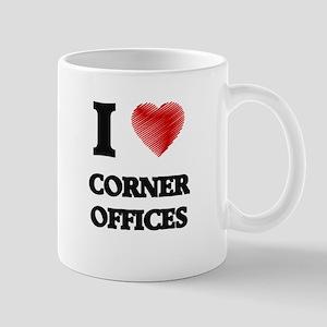 I love Corner Offices Mugs