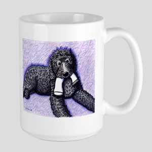 Black Doodle w/ Sock Mugs