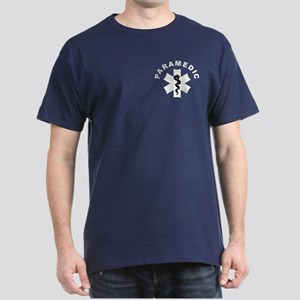Paramedic Star Of Life Dark T-Shirt