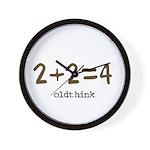 2+2=4 Wall Clock