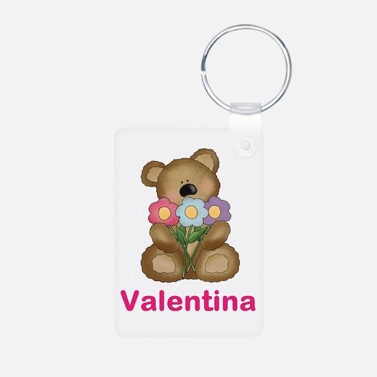 Valentina's Bouquet Bear Keychains