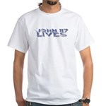 John 117 Lives White T-Shirt
