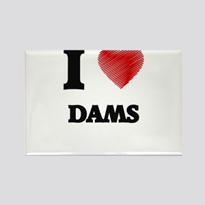 I love Dams Magnets