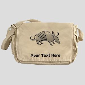 Grey Armadillo (Custom) Messenger Bag