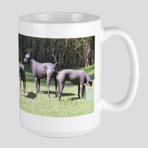 Xoloitzcuintli group Mugs