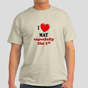 May 1st Light T-Shirt