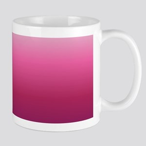 abstract magenta fuchsia ombre Mugs