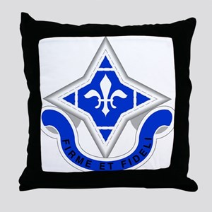 92 Infantry Division Throw Pillow