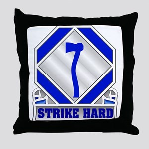 84th Division Throw Pillow