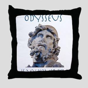 Odysseus Is My Homer-Boy Throw Pillow