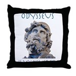 Odysseus Is My Homer-Boy Throw Pillow
