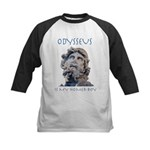 Odysseus Is My Homer-Boy Kids Baseball Jersey