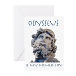 Odysseus Is My Homer-Boy Greeting Cards (Pk of 20)