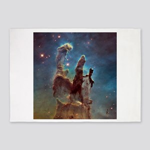 Eagle Nebula's Pillars of Creation 5'x7'Area Rug