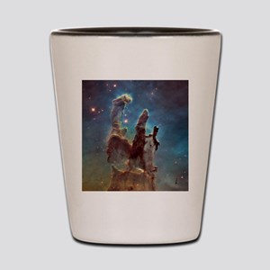 Eagle Nebula's Pillars of Creation Shot Glass