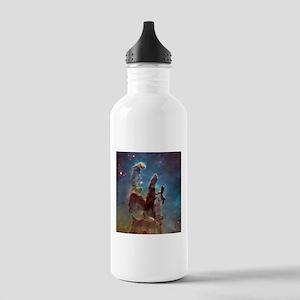 Eagle Nebula's Pillars of Creation Water Bottle