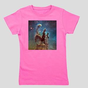 Eagle Nebula's Pillars of Creation Girl's Tee