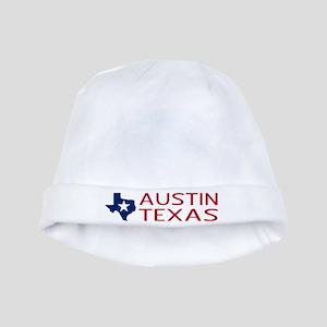 Texas: Austin (State Shape & Star) baby hat