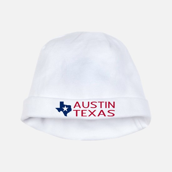 Texas: Austin (State Shape & Star) baby hat