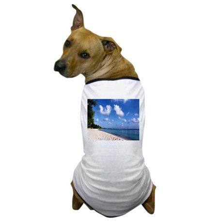 Seven Mile Beach Grand Cayman Dog T-Shirt