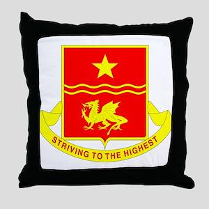 30th Field Artillery Throw Pillow