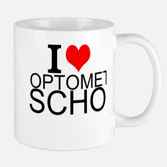 I Love Optometry School Mugs