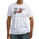 1930's Snow Fun #4 Fitted T-Shirt