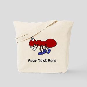 Cartoon Ant (Custom) Tote Bag