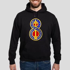 8th Infantry Division Hoodie (dark)