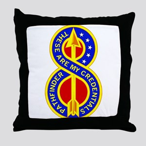 8th Infantry Division Throw Pillow