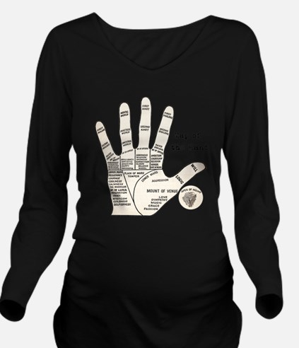 Cute Occult Long Sleeve Maternity T-Shirt