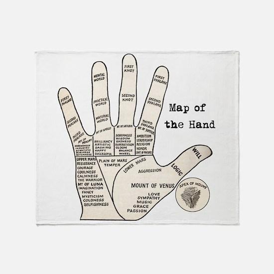 Cute Hand Throw Blanket