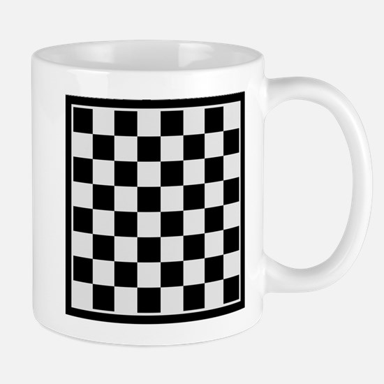 Checkers board Mug