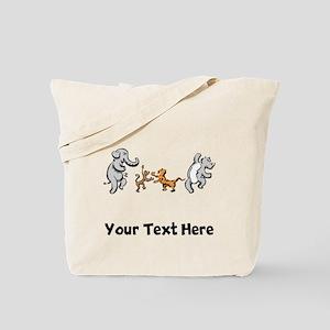 Dancing Animals (Custom) Tote Bag