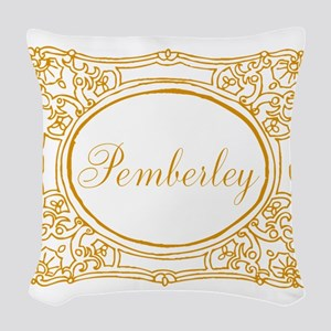 Pemberley Woven Throw Pillow
