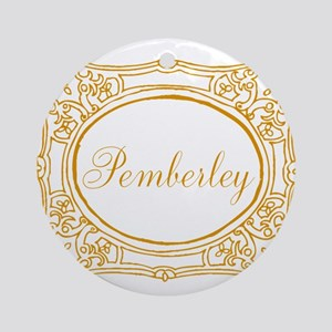 Pemberley Round Ornament