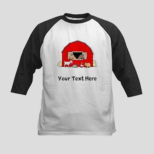 Barn Animals (Custom) Baseball Jersey