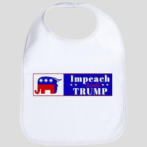 Impeach Trump 2018 Baby Bib