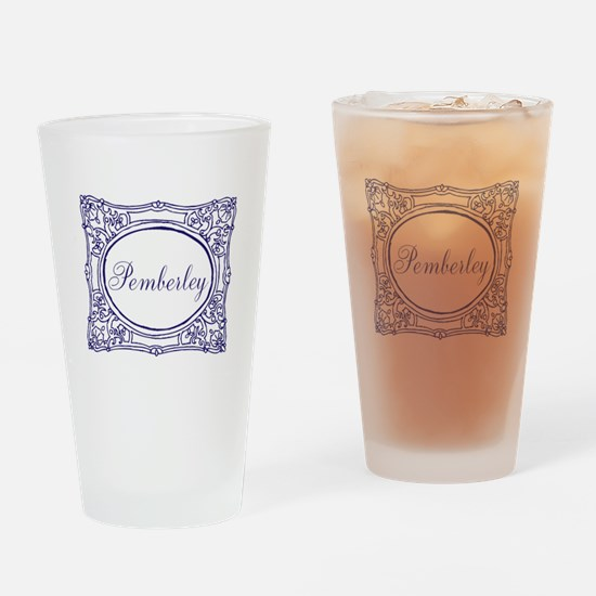 Pemberley Drinking Glass