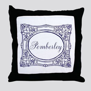 Pemberley Throw Pillow