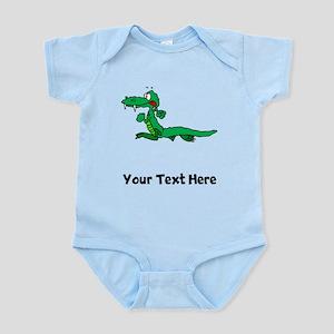 Cartoon Alligator (Custom) Body Suit