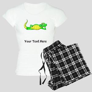Alligator Posing (Custom) Pajamas