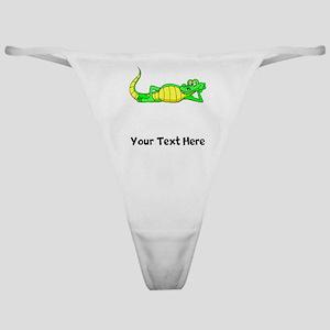 Alligator Posing (Custom) Classic Thong